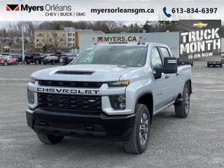 New 2021 Chevrolet Silverado 2500 HD Custom  - SIriusXM for sale in Orleans, ON