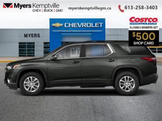 New 2021 Chevrolet Traverse LT Cloth  - LTZ PLUS - Power Liftgate for sale in Kemptville, ON