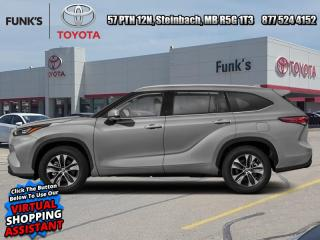 New 2021 Toyota Highlander XLE  - Power Moonroof -  Softex Seats for sale in Steinbach, MB