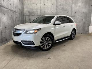 Used 2014 Acura MDX NAV PACK SH-AWD GPS TOIT OUVRANT CAMERA DE RECUL BLUETOOTH for sale in St-Nicolas, QC