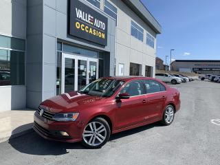Used 2015 Volkswagen Jetta 4dr 2.0 TDI Man Highline for sale in St-Georges, QC
