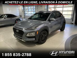 Used 2018 Hyundai KONA LUXURY AWD + GARANTIE + TOIT + WOW !! for sale in Drummondville, QC