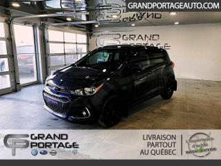 Used 2017 Chevrolet Spark LT à hayon 5 portes transmission à varia for sale in Rivière-Du-Loup, QC
