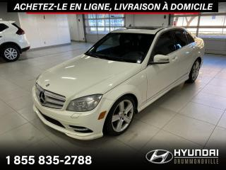 Used 2011 Mercedes-Benz C-Class C 300 4MATIC +  GARANTIE + TOIT + CUIR + for sale in Drummondville, QC