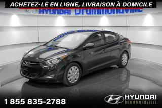 Used 2015 Hyundai Elantra GL + GARANTIE + A/C + CRUISE + BLUETOOTH for sale in Drummondville, QC