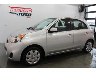 Used 2015 Nissan Micra SV 5VIT for sale in Lévis, QC