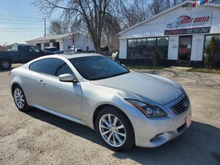 Used 2011 Infiniti G37 Coupe x for sale in Barrie, ON