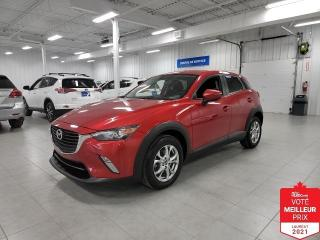 Used 2017 Mazda CX-3 GS AWD - CAMERA + S. CHAUFFANTS + JAMAIS ACCIDENTE for sale in St-Eustache, QC