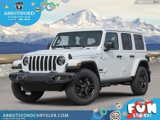 New 2021 Jeep Wrangler Altitude Unlimited  - Hardtop - $334 B/W for sale in Abbotsford, BC