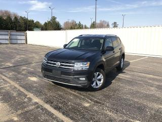 Used 2018 Volkswagen Atlas Comfortline 4MOTION AWD for sale in Cayuga, ON
