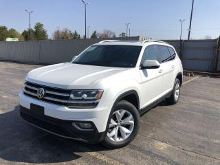 Used 2018 Volkswagen Atlas Highline AWD for sale in Cayuga, ON