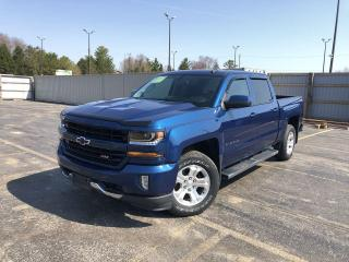 Used 2018 Chevrolet Silverado 1500 LT CREW Z71 4WD for sale in Cayuga, ON