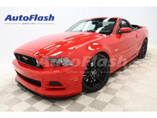 Used 2014 Ford Mustang *GT *CONVERTIBLE *PREMIUM *M6 * V8 *5.0 for sale in St-Hubert, QC