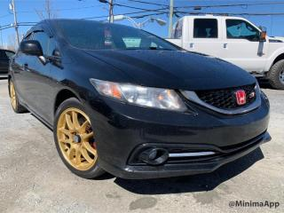 Used 2013 Honda Civic Si, gps, camera de recul for sale in Drummondville, QC