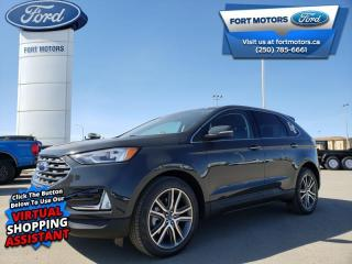 New 2021 Ford Edge Titanium  - Navigation - Leather Seats - $360 B/W for sale in Fort St John, BC