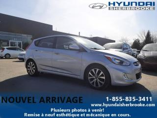 Used 2016 Hyundai Accent BAS KILO! SE TOIT BANCS CHAUFF BLUETOOTH for sale in Sherbrooke, QC