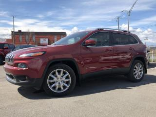 Used 2015 Jeep Cherokee 4 RM, 4 portes, Limited for sale in Trois-Rivières, QC