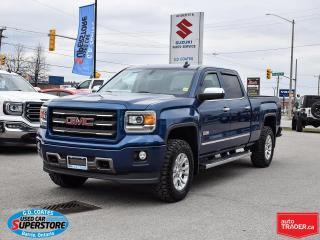 Used 2015 GMC Sierra 1500 SLE All Terrain Crew Cab 4x4 ~Heated Seats ~Camera for sale in Barrie, ON