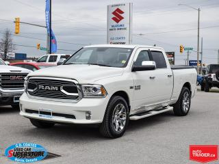 Used 2018 RAM 1500 Limited Crew Cab 4x4 ~Air Ride ~Nav ~Leather ~Roof for sale in Barrie, ON