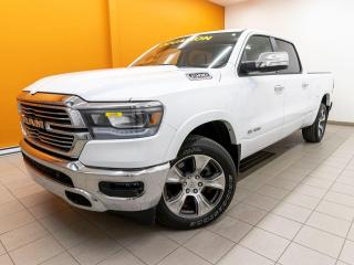 Used 2020 RAM 1500 LARAMIE CREW DIESEL ALERTES NAVIGATION *TOIT PANO* for sale in Mirabel, QC