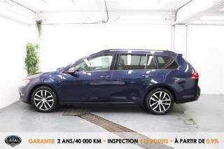 Used 2017 Volkswagen Golf Sportwagen DSG Comfortline 1.8 TSI 4MOTION + Keyless for sale in Québec, QC