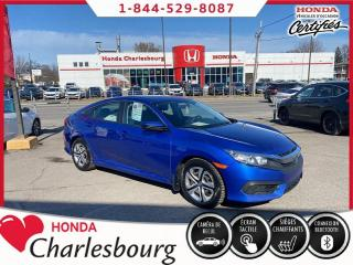 Used 2017 Honda Civic LX**AUTOMATIQUE**UN PROPRIÉTAIRE** for sale in Charlesbourg, QC