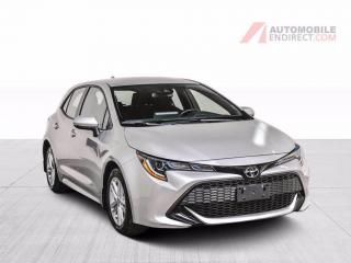 Used 2019 Toyota Corolla Hatchback SE Mags Caméra de recul Sièges Chauffants for sale in St-Hubert, QC