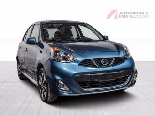 Used 2017 Nissan Micra SR AIR CLIMATISE MAGS CAMERA DE RECUL for sale in St-Hubert, QC