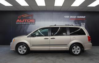 Used 2015 Dodge Grand Caravan SE/SXT 3.6L AUTO + STOW N GO + MAGS 130 772 KM !! for sale in Lévis, QC