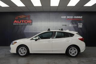 Used 2017 Subaru Impreza TOURING AWD CVT AUTO MAGS SIÈGES CAMERA 96 862 KM for sale in Lévis, QC