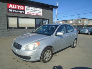 Used 2006 Hyundai Accent GS for sale in St-Hubert, QC