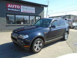 Used 2008 BMW X3 3.0i XDrive for sale in St-Hubert, QC