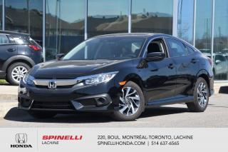 Used 2017 Honda Civic EX AUTO BAS KM TOIT AUTO TOIT CRUISE BLUETOOTH BAS KM for sale in Lachine, QC