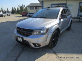 Used 2015 Dodge Journey POWER EQUIPPED SE MODEL 5 PASSENGER 3.6L - V6.. TOUCH SCREEN DISPLAY.. BLUETOOTH SYSTEM.. CD/AUX/USB INPUT.. KEYLESS ENTRY.. for sale in Bradford, ON
