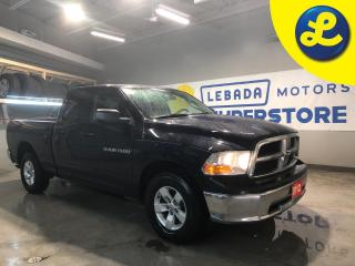 Used 2012 Dodge Ram 1500 QUAD CAB 4X4 * 6 Passenger * Cruise Control * Steering Wheel Controls * AM/FM/SXM/USB/Aux * Uconnect 130 -inc: AM/FM stereo, CD/MP3 player * Automatic for sale in Cambridge, ON