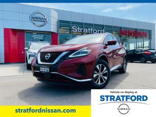New 2021 Nissan Murano SV AWD for sale in Stratford, ON