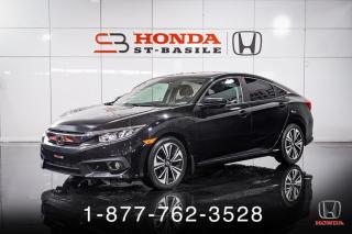 Used 2016 Honda Civic EX-T + TOIT + A/C + CRUISE + MAGS + WOW! for sale in St-Basile-le-Grand, QC