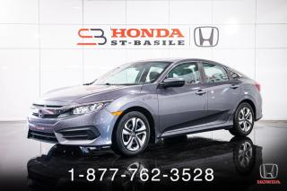 Used 2016 Honda Civic LX + A/C + CAMERA + CRUISE + WOW! for sale in St-Basile-le-Grand, QC