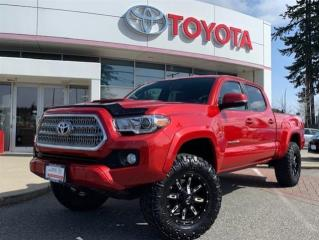 Used 2016 Toyota Tacoma 4x4 Double Cab V6 TRD Sport 6A (US Model) for sale in Surrey, BC