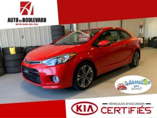 Used 2016 Kia Forte Koup EX GDI TOIT AUTO BEAU LOOK TOUT EQUIPE for sale in Notre-Dame-des-Pins, QC