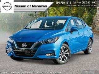 New 2021 Nissan Versa SV for sale in Nanaimo, BC