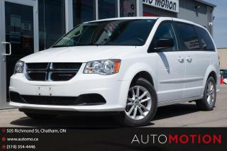 Used 2017 Dodge Grand Caravan CVP/SXT for sale in Chatham, ON