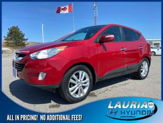 Used 2011 Hyundai Tucson Limited AWD - LOADED! for sale in Port Hope, ON