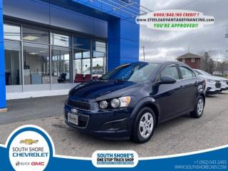 Used 2016 Chevrolet Sonic LT for sale in Bridgewater, NS