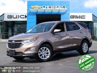 Used 2018 Chevrolet Equinox LT REMOTE START! | HEATED SEATS! for sale in Burlington, ON