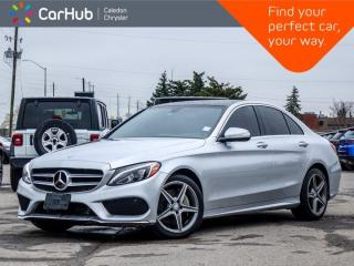 Used 2015 Mercedes-Benz C-Class C 300 4Matic Navigation Panoramic Sunroof Bluetooth Blind Spot Keyless Heated Front Seats 17