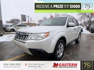 Used 2013 Subaru Forester X Touring | Heated Front Seats | for sale in Winnipeg, MB