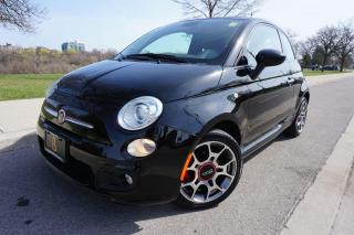 Used 2013 Fiat 500 SPORT / 1 OWNER / 5 SPEED / BEATS SOUND / STUNNING for sale in Etobicoke, ON