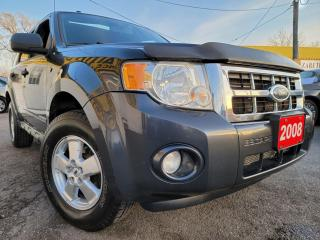 Used 2008 Ford Escape XLT/AWD/V6/MOON ROOF/FOGLIGHTS/LOADED/ALLOYS for sale in Scarborough, ON