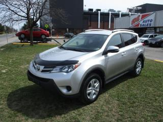 Used 2015 Toyota RAV4 LE ~ REAR CAMERA ~ BLUETOOTH ~ ACCIDENT FREE for sale in Toronto, ON